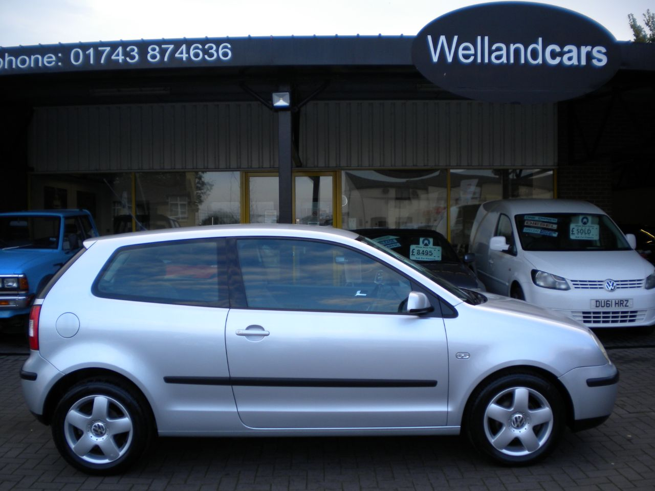 Volkswagen Polo 1.9 Sport TDI 100 3dr Diesel, Air-Con, Alloys, S/H15 MONTH PARTS AND LABOUR WARRANTY INCLUDED Hatchback Diesel Silver at Welland Cars Shrewsbury