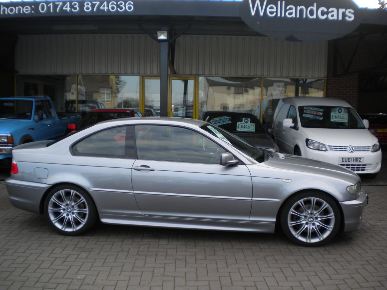 BMW 3 Series 3.0 330Cd Sport 2dr 6 Speed Diesel Manual,F/S/H,Amazing Spec,15 MONTH PARTS AND LABOUR WARRANTY INCLUDED Coupe Diesel Metallic Gun Metal Grey at Welland Cars Shrewsbury