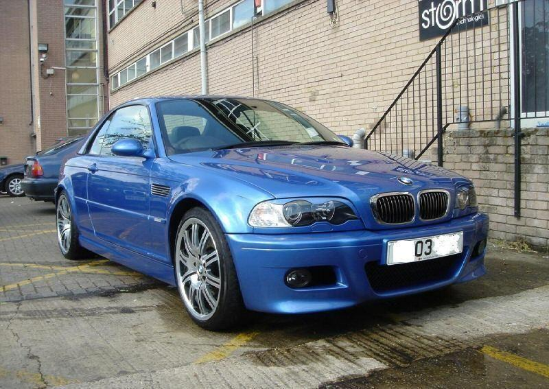 BMW 3 Series 3.2 M3 Coupe Petrol Blue