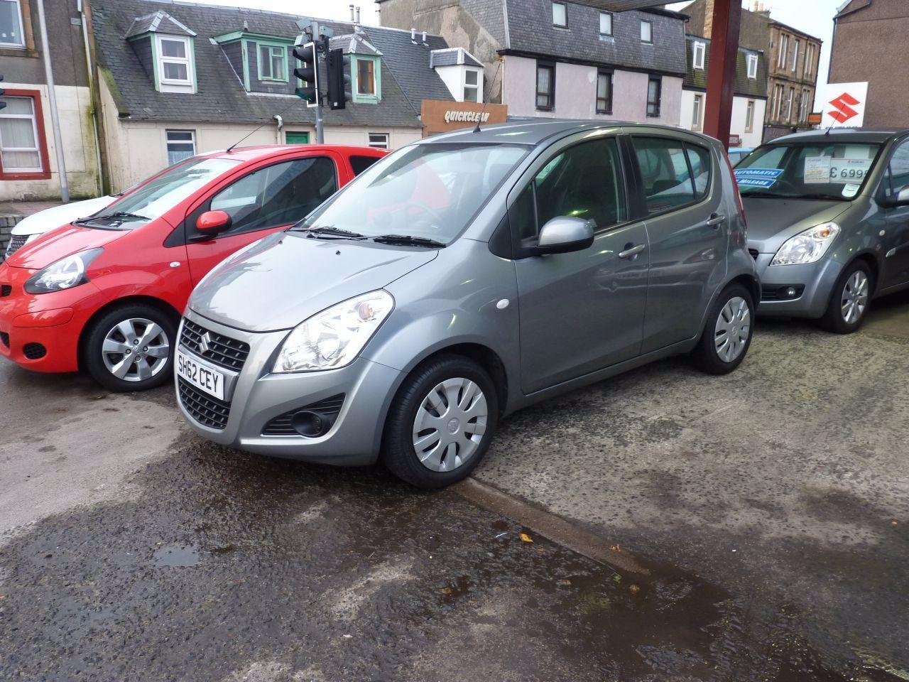 Suzuki Splash 1.2 SZ3 5dr Hatchback Petrol Galactic Grey Metallic