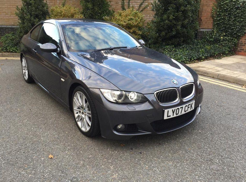 BMW 3 Series 3.0 335I M SPORT COUPE PETROL GREY
