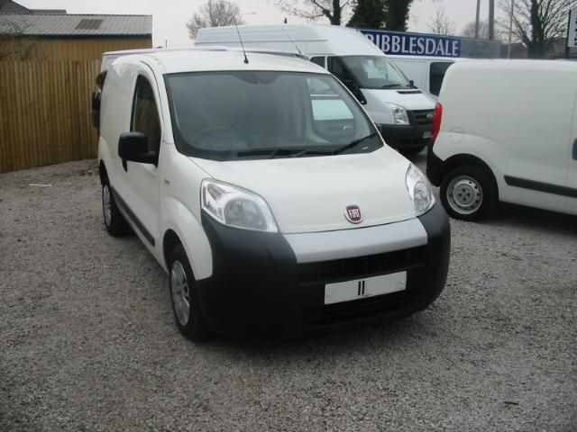 Fiat Fiorino 1.3 16V Multijet Van Van Diesel WHITE at Ribblesdale Commercials Preston