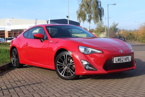 Toyota Gt86 2.0 3dr Coupe Petrol Red