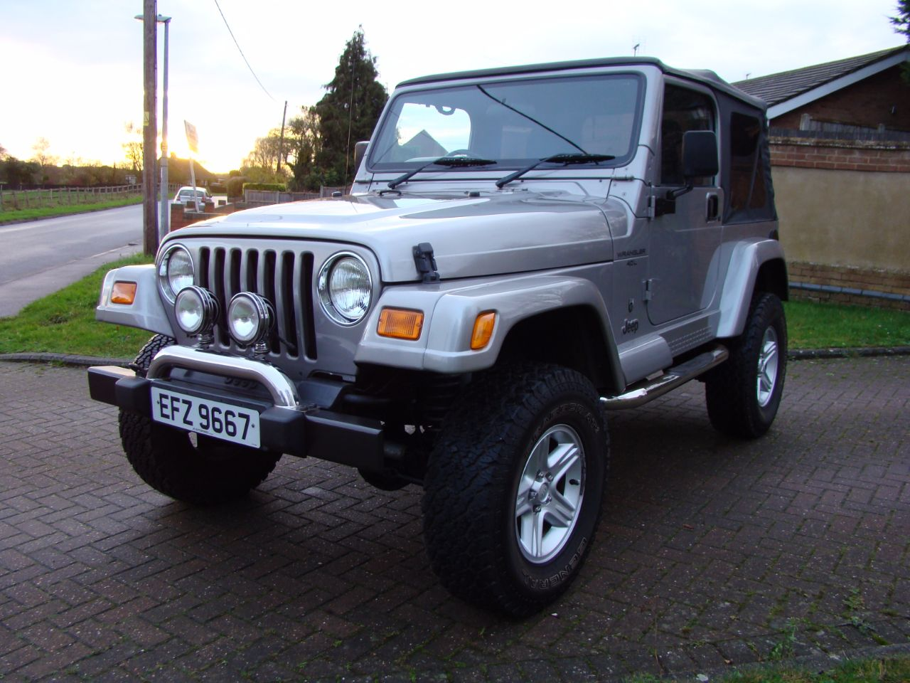 2001 Jeep Wrangler 4.0 60th Anniversary 2dr Soft Top