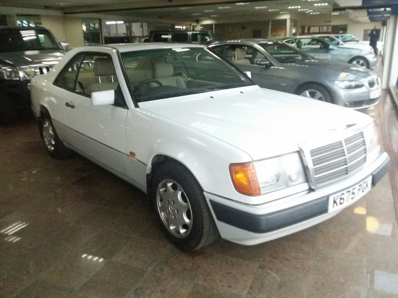 Mercedes-Benz Ce Series 2.2 220 CE AUTO Coupe Petrol White at Hare Motors Halifax