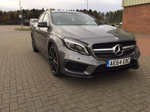 Mercedes-Benz Gla Class 2.0 GLA45 AMG 4MATIC ESTATE PETROL GREY