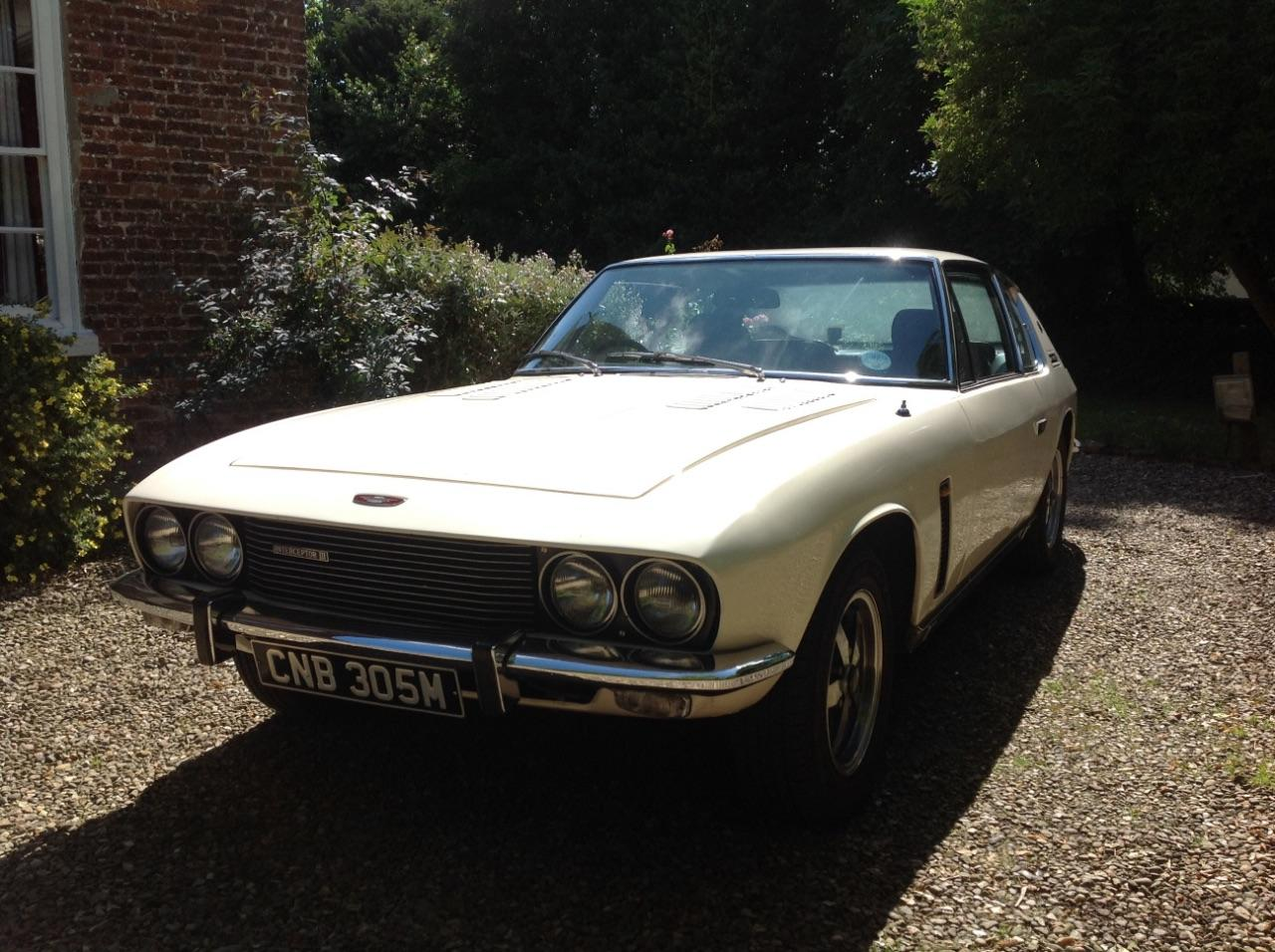 Jensen Interceptor 7.2 INTERCEPTOR Sports Petrol White