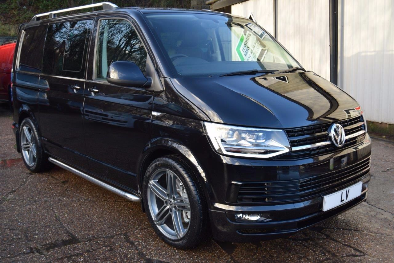 used volkswagen transporter t6 t32 180ps highline kombi. Black Bedroom Furniture Sets. Home Design Ideas