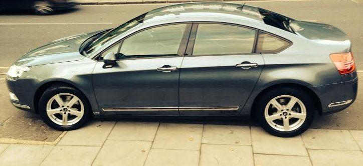 Citroen C5 2.0 HDI VTR PLUS NAV Saloon Diesel Grey
