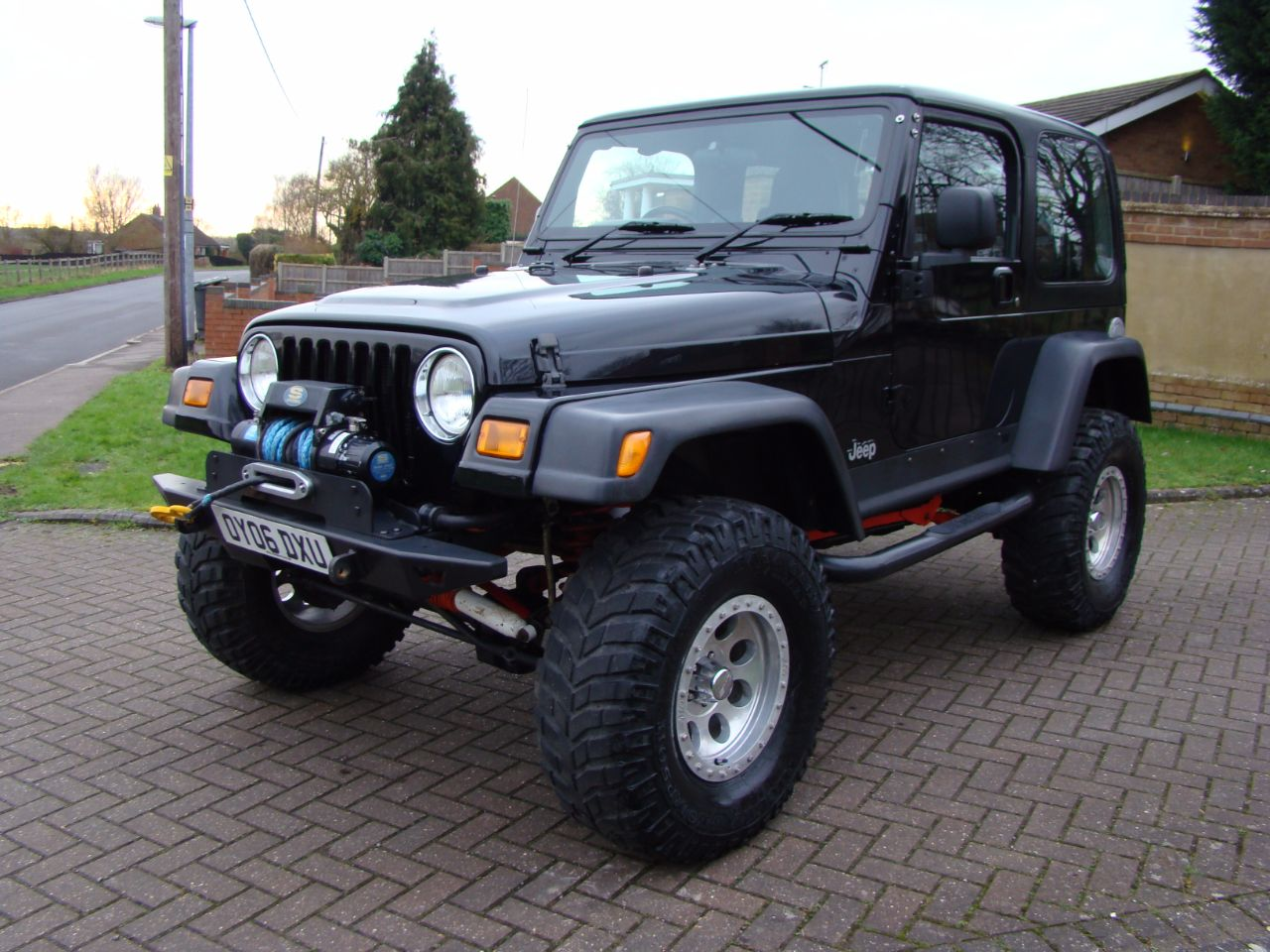 jeep wrangler 40 jamboree 2dr for sale in luton bedfordshire claridges cars. Black Bedroom Furniture Sets. Home Design Ideas