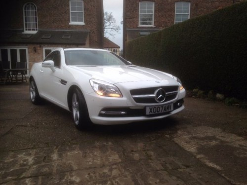 Mercedes-Benz SLK 2.1 SLK250 CDI BLUEEFFICIENCY Convertible Diesel White