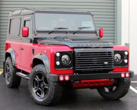 Land Rover Defender 2.2 SMC Over Land Final Edition *LIMITED EDITION 1/5* Four Wheel Drive Diesel Red/black