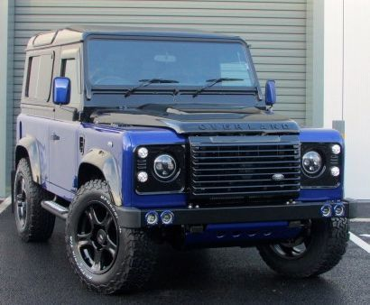 Land Rover Defender 2.2 SMC OVER LAND FINAL EDITION *LIMITED EDITION 2/5* Four Wheel Drive Diesel Blue/black