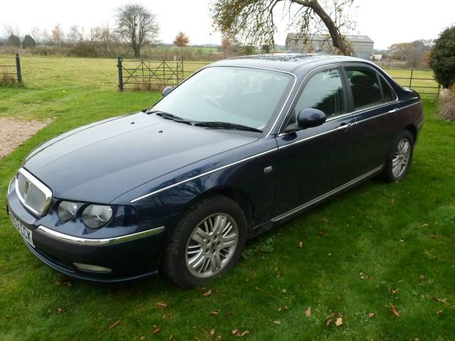Rover 75 1.8 T CLUB SE Auto 38,658 Miles Outstanding Condition Saloon Petrol Blue