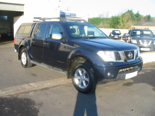 Nissan Navara Double Cab Pick Up Outlaw 2.5dCi 169 4WD Pick-up Diesel BLUE at Ribblesdale Commercials Preston