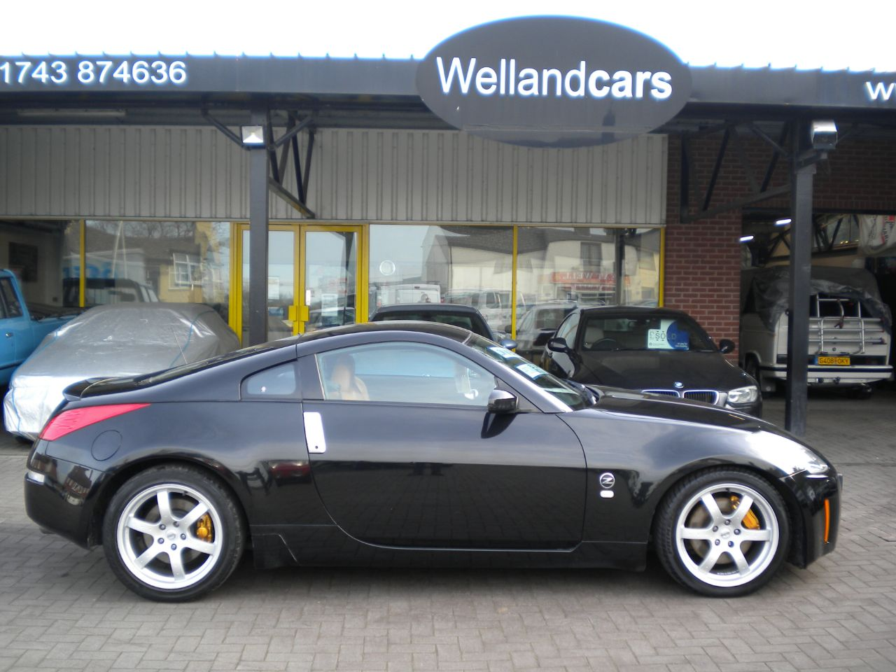 Nissan 350Z 3.5 V6 300 3dr GT Pack,F/S/H,18`Alloys,Low Miles # NOW SOLD# Sports Petrol Ultra Black at Welland Cars Shrewsbury