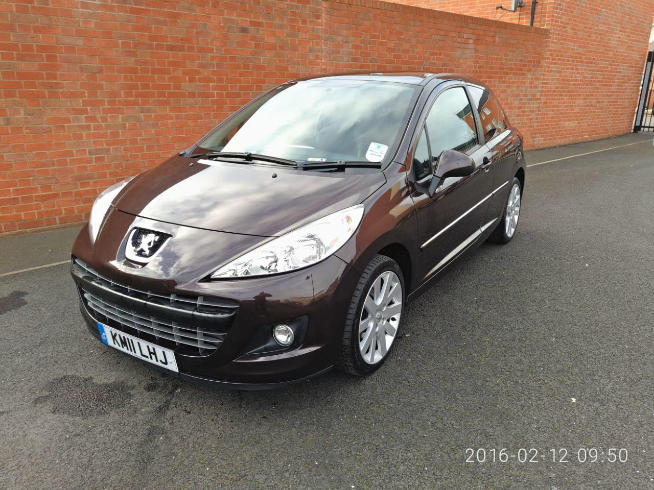 Peugeot 207 1.6 HDI ALLURE HATCHBACK DIESEL RED