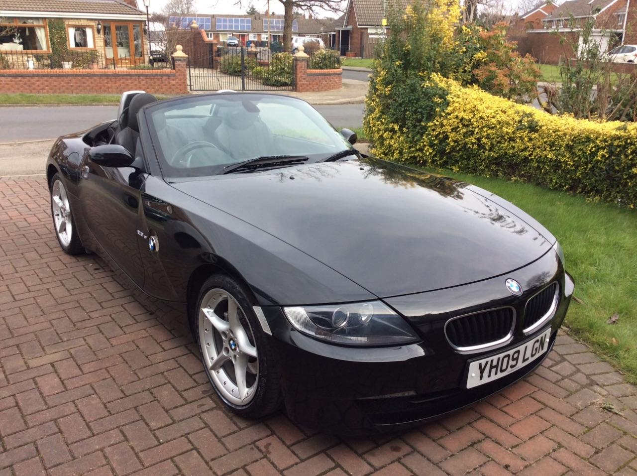 BMW Z Series 2.5 Z4 SI ROADSTER CONVERTIBLE PETROL BLACK