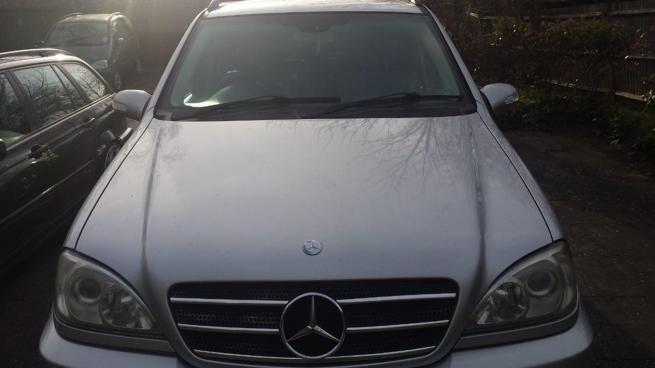 Mercedes-Benz M Class 2.7 ML 270 CDI Estate Diesel Silver