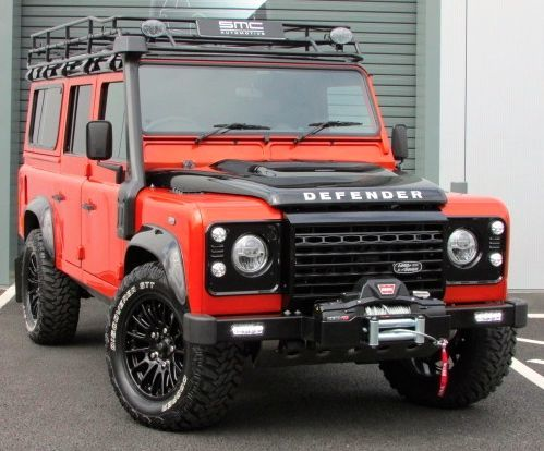 Land Rover Defender 110 Adventure Station Wagon TDCi [2.2] Over Land Edition Four Wheel Drive Diesel Orange