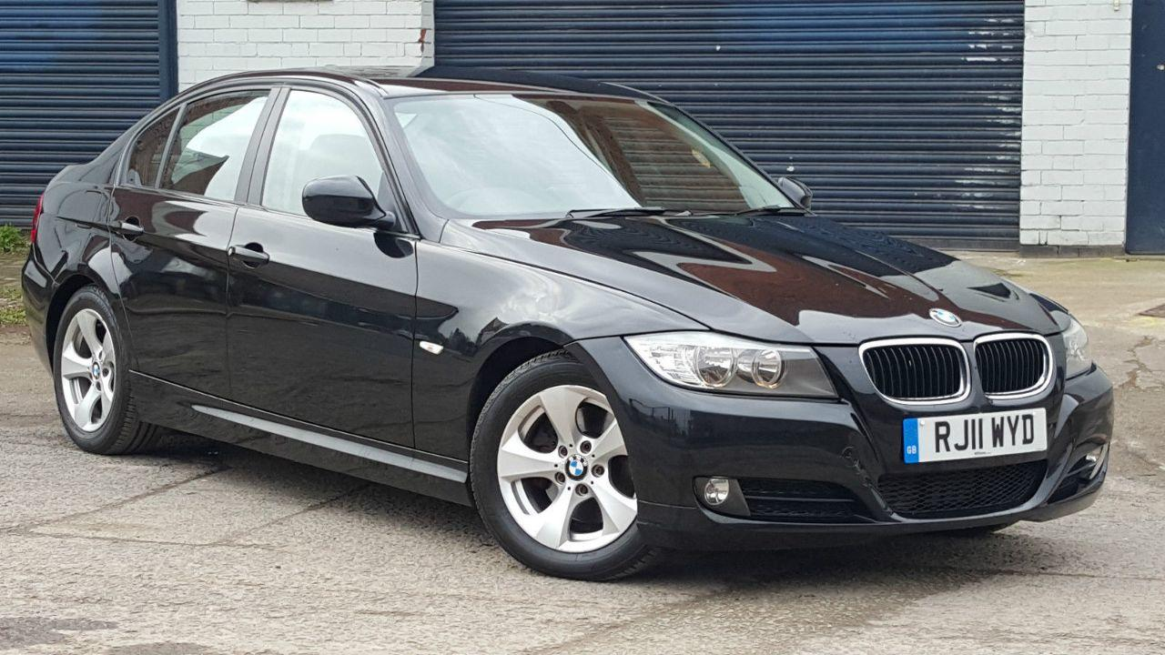 BMW 3 Series 2.0 320D EFFICIENTDYNAMICS SALOON DIESEL BLACK
