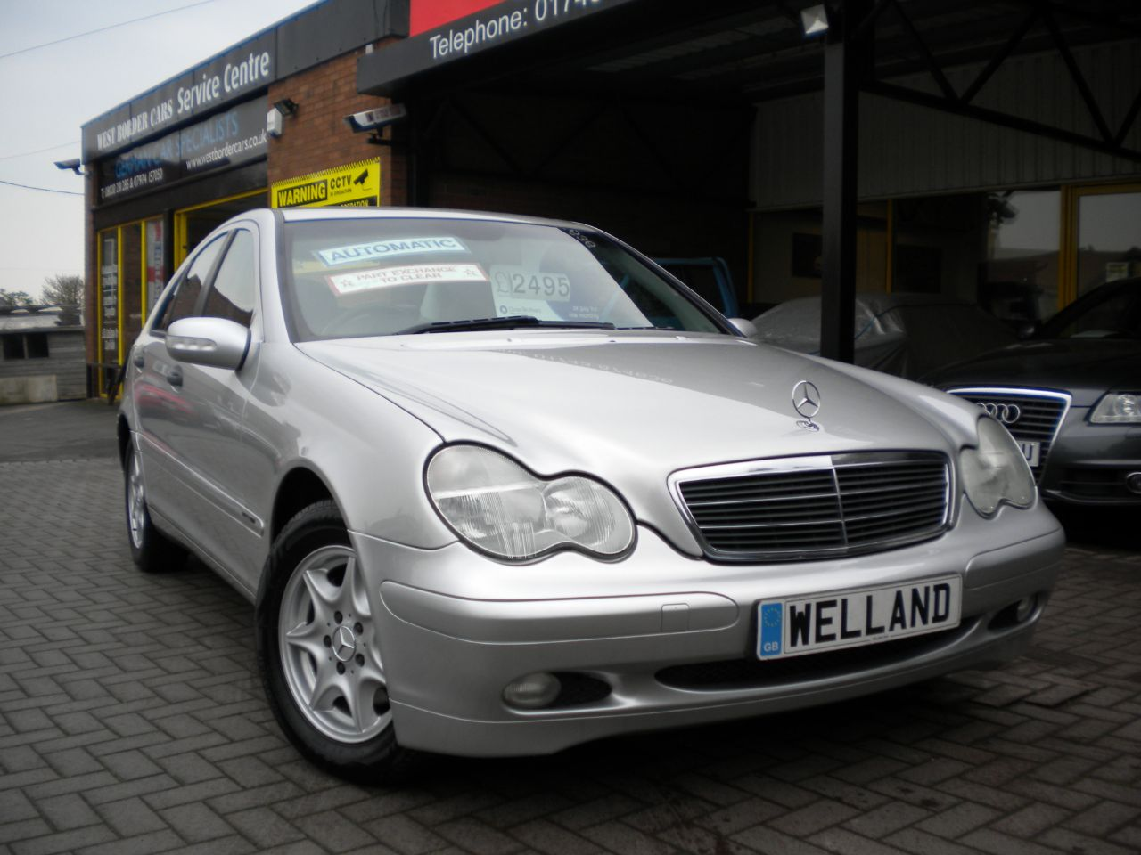 Second hand mercedes benz c class c180 kompressor for Extended warranty for mercedes benz worth it