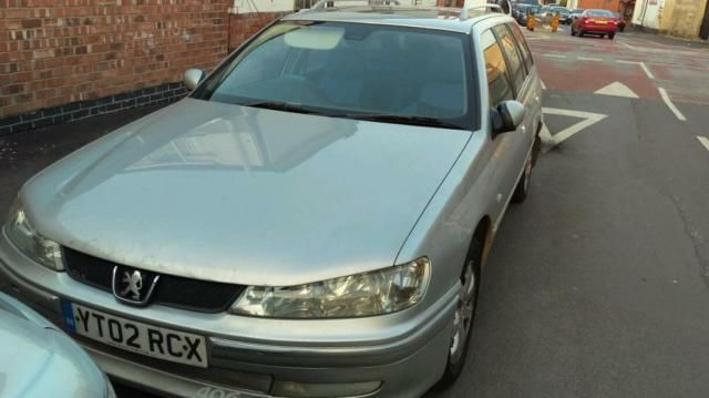 Peugeot 406 2.0 GLX FAMILY HDI (110BHP) Estate Diesel Silver