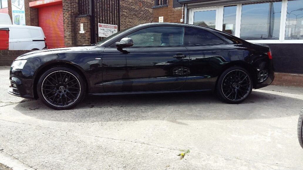 Audi A5 2.0 TDI 177 Black Edition Plus Coupe Multitronic 2015/15 plate Coupe Diesel Black