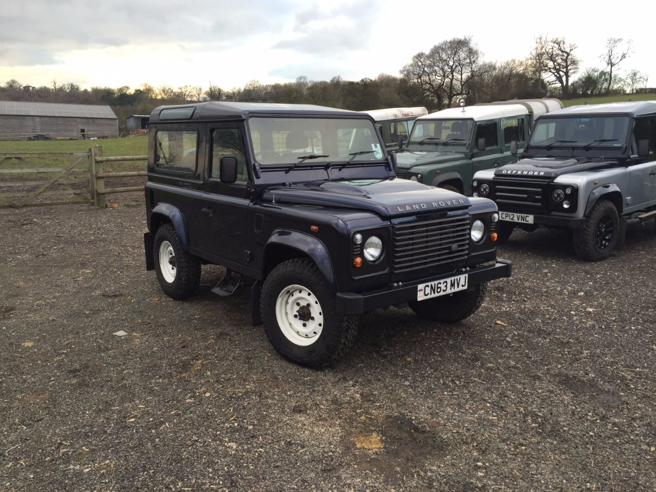 Land Rover Defender Hard Top TDCi [2.2] Four Wheel Drive Diesel Blue