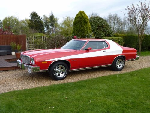 Ford Gran Torino 5.8 Starsky and Hutch Coupe Petrol Red / White