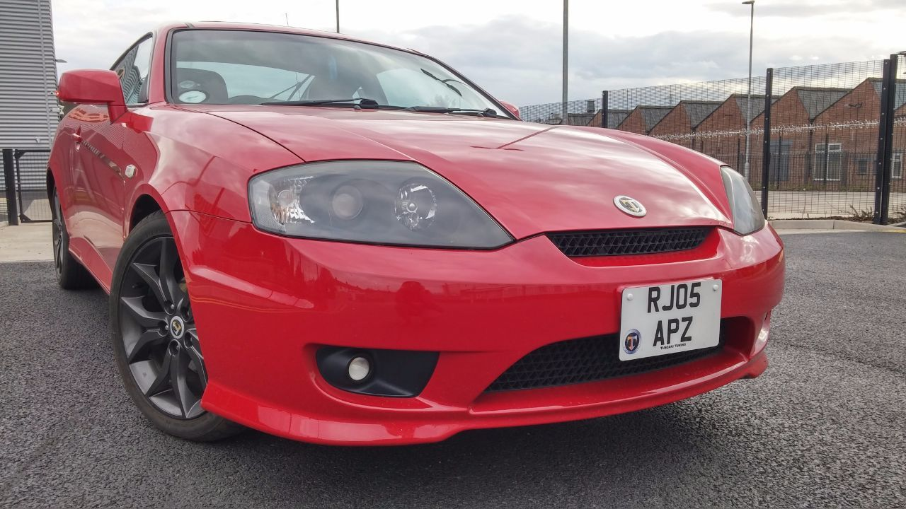 Hyundai Coupe 2.0 SE COUPE PETROL RED