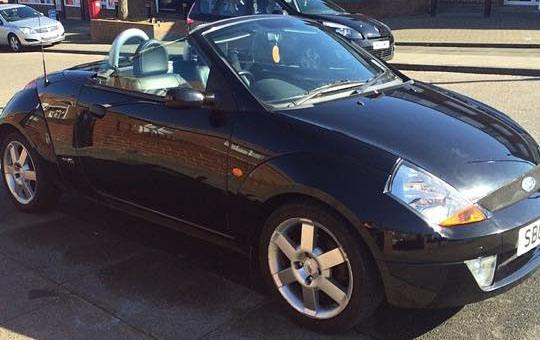 Ford Streetka 1.6 16V WINTER CONVERTIBLE PETROL BLACK