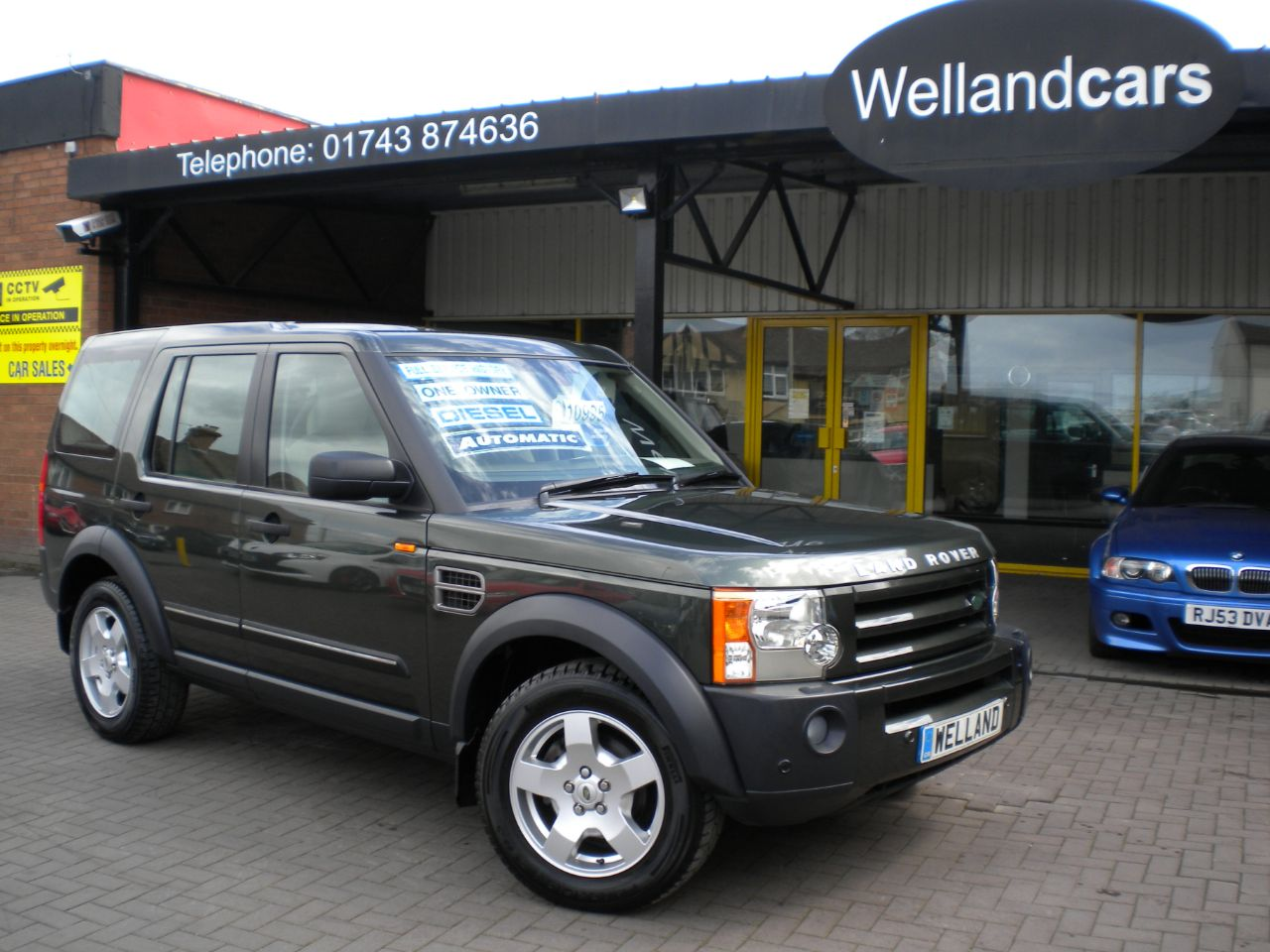 Land Rover Discovery 2.7 Td V6 S 5dr Auto, 7 Seats,Only 1 Owner, Full L/R History, Towpack, Heated Rear Seats,18`Alloys Estate Diesel Tonga Green Metallic at Welland Cars Shrewsbury