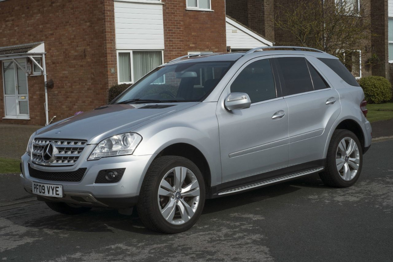 Mercedes-Benz ML Class 3.0 ML 280 CDI SPORT Estate Diesel Silver