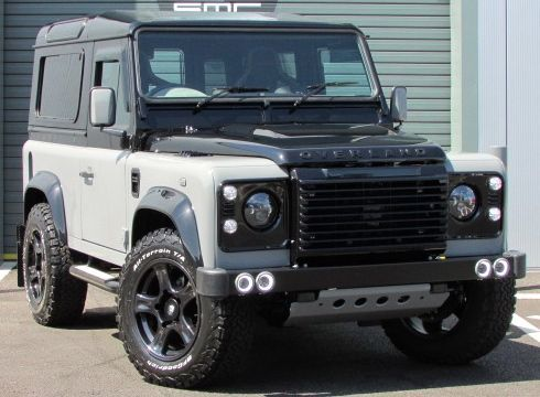 Land Rover Defender XS Station Wagon TDCi [2.2] SMC Over Land Final Edition *Limited Edition 3/5* Four Wheel Drive Diesel Grey