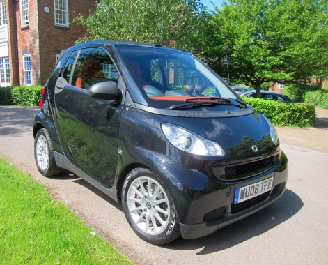 Smart Fortwo Cabrio 1.0 PASSION 71 Convertible Petrol Black