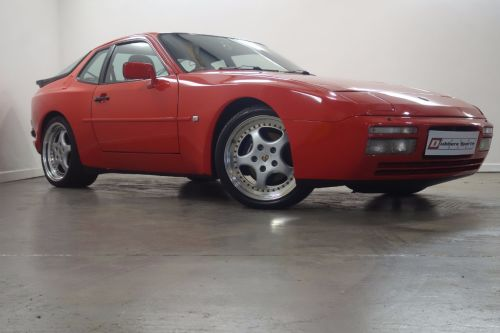 Porsche 944 2.5 944 TURBO Coupe Petrol Red