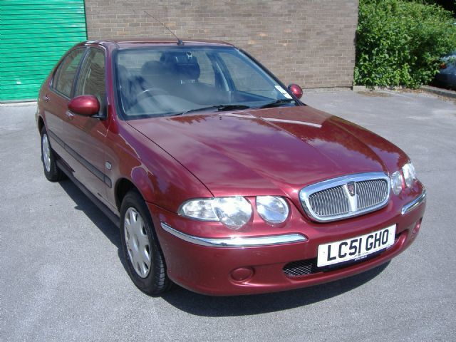 Rover 45 1.6 Impression Hatchback Petrol Red