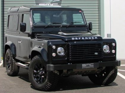 Land Rover Defender Autobiography Station Wagon TDCi [2.2] 150PS 1 of 100 Worldwide Four Wheel Drive Diesel Black