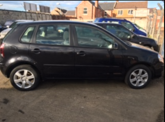 Volkswagen Polo 1.2 Match 60 5dr Hatchback Petrol Black at Ken Wallace Northallerton