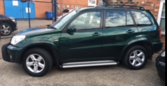 Toyota Rav4 2.0 XT3 5dr Estate Petrol Green at Ken Wallace Northallerton