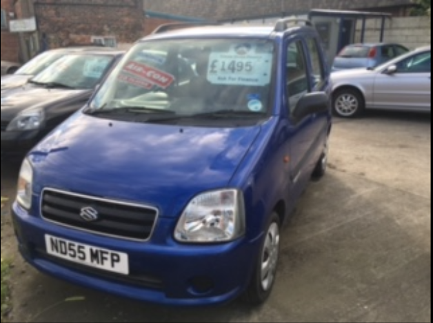 Suzuki Wagon R 1.2 GL 5dr Hatchback Petrol Blue at Ken Wallace Northallerton