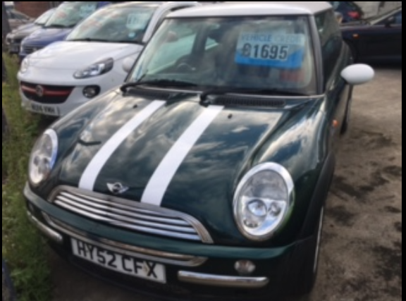 Mini Hatchback 1.6 Cooper 3dr Hatchback Petrol Green at Ken Wallace Northallerton