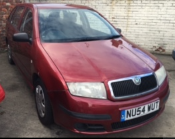 Skoda Fabia 1.2 12V Classic 5dr 64hp Estate Petrol Red at Ken Wallace Northallerton