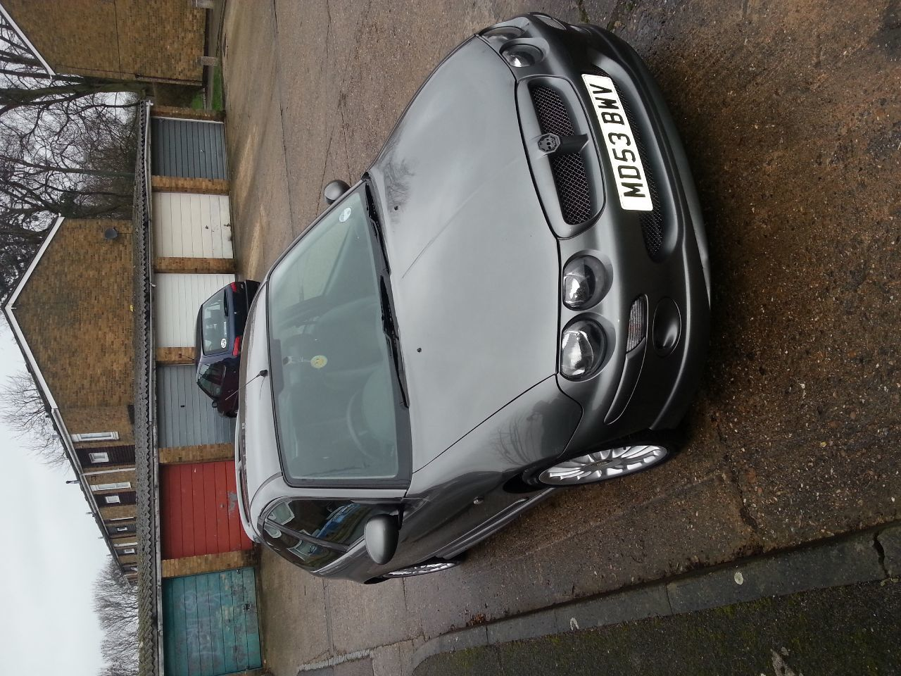 MG ZR 1.4 105 HATCHBACK PETROL GREY