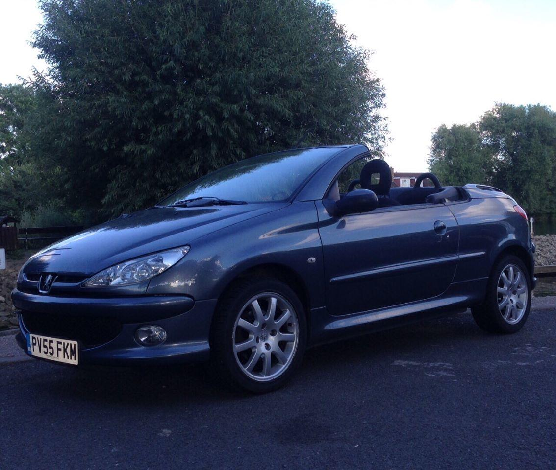 Peugeot 206 1.6 SPORT COUPE CABRIOLET CONVERTIBLE PETROL GREY