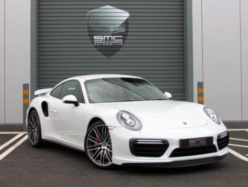 Porsche 911 3.8 Turbo 2dr PDK 991 Gen 2, New shape, Only 4000 miles Coupe Petrol White