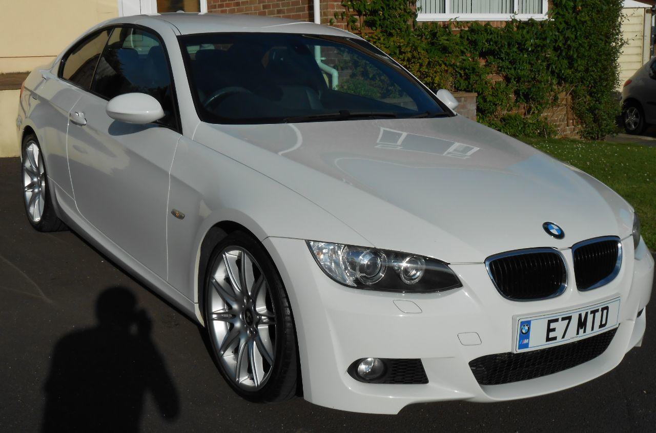 BMW 3 Series 2.0 320D M SPORT COUPE DIESEL WHITE