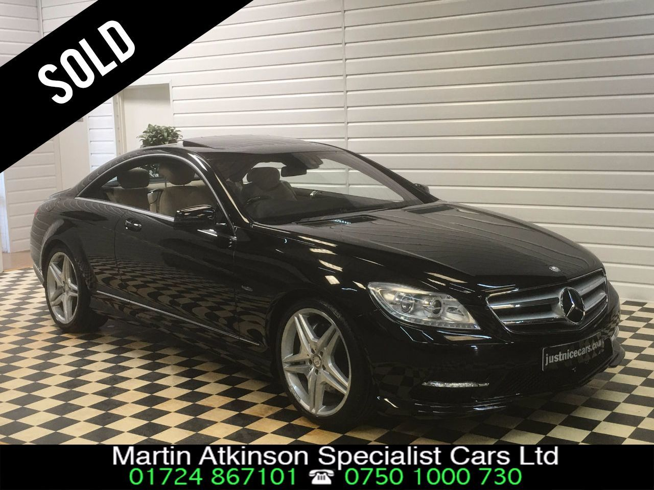 Martin atkinson specialist cars ltd used cars in for Mercedes benz cl coupe