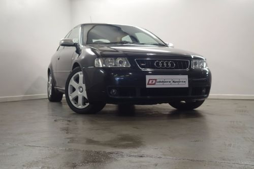 Audi S3 1.8 S3 Quattro 3dr [225] WITH FULL SERVICE HISTORY Hatchback Petrol Black